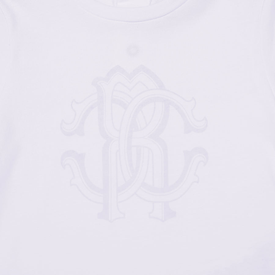 All-White Monogram T-Shirt
