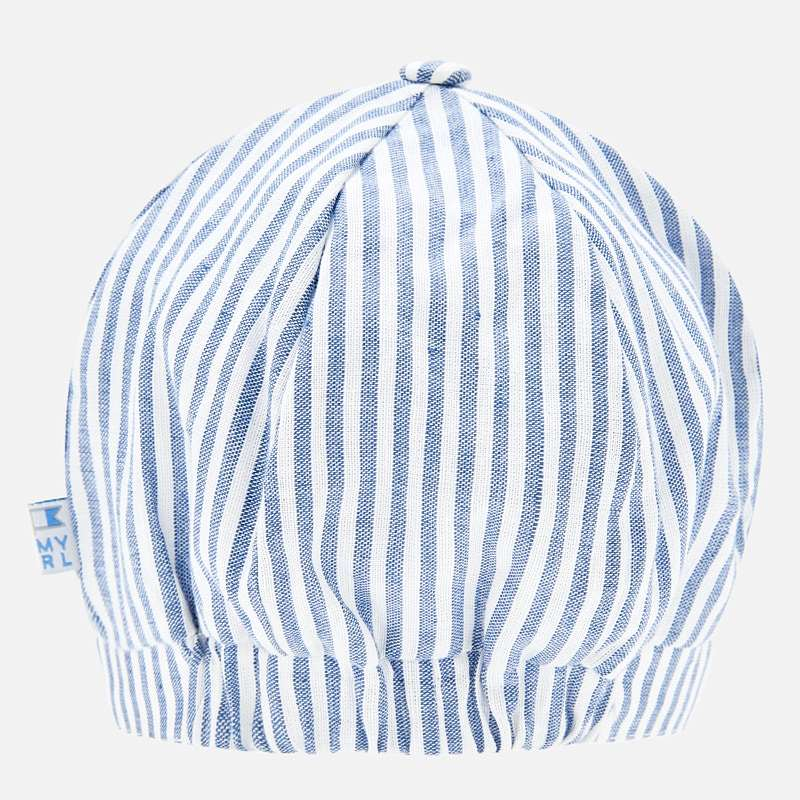BLUE PIN STRIPED CAP