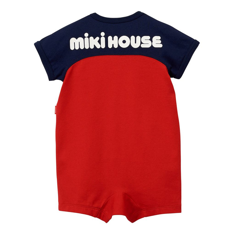 Miki House Red Bodysuit