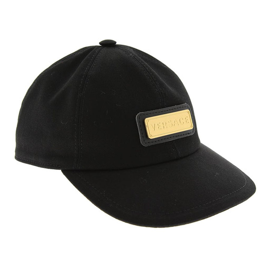 versace-black-logo-plaque-hat-yd000352-a235811-a1008
