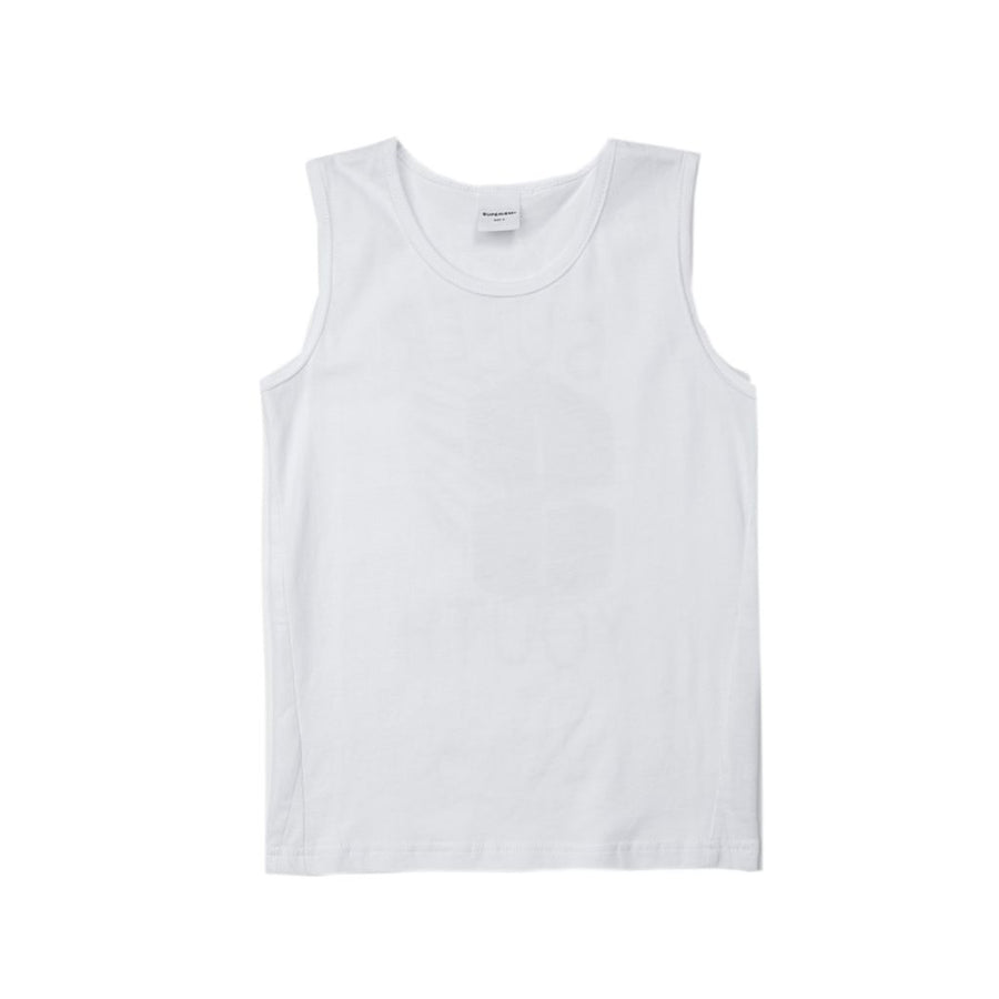SUPERISM WHITE CALIX TANK TOP