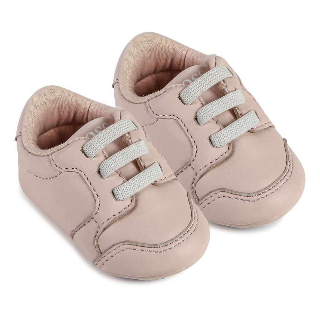 Pale Pink Trainers - kids atelier