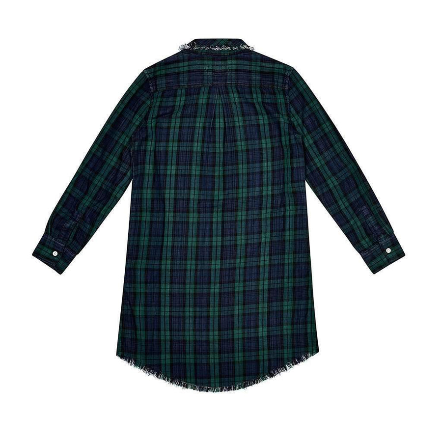 DL1961 Lily Green Plaid Dress-Dresses-DL1961-kids atelier