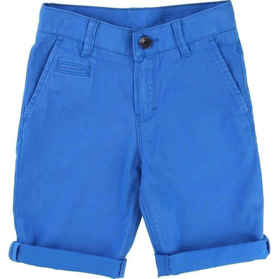 Electric Blue Bermuda Shorts