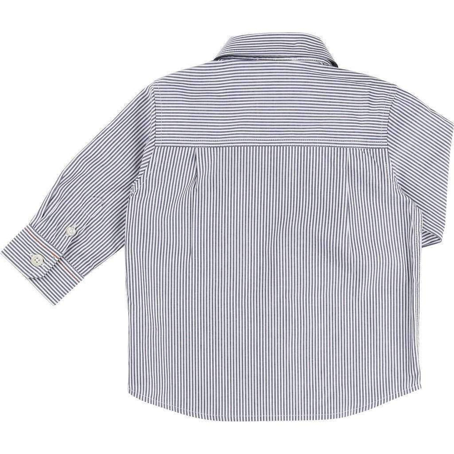 Fancy Striped Pocket Shirt
