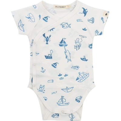 Fish & Ship Baby Outfit-Outfits-Billybandit-kids atelier