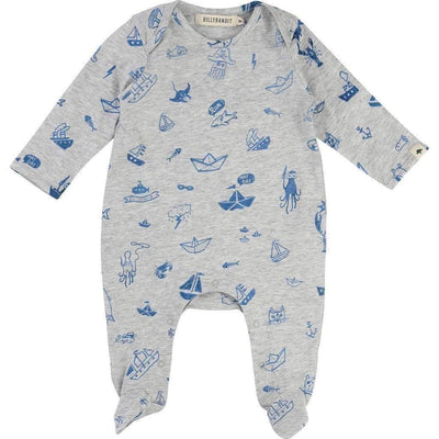 Fish & Ship Pajamas-Pajamas-Billybandit-kids atelier