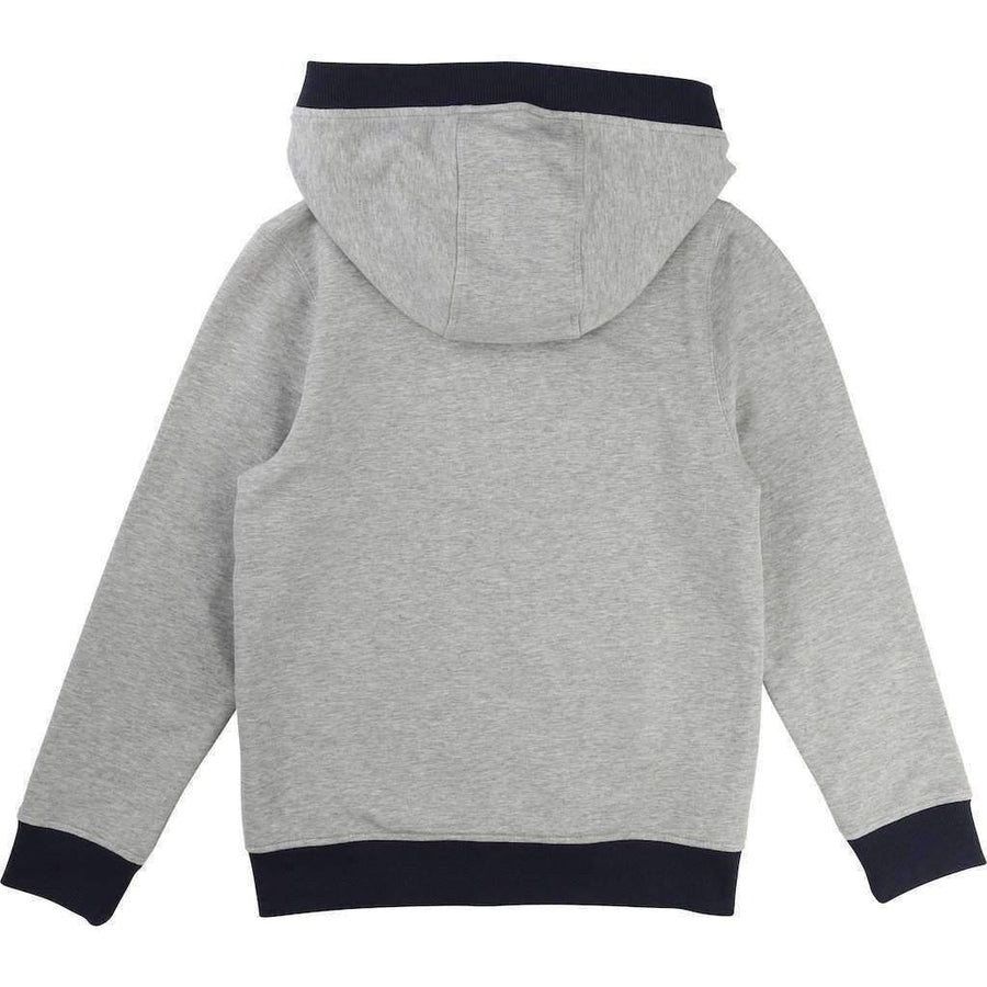 Gray Fleece Sweat Jacket