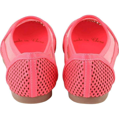 Hot Pink Ballerina Shoes-Shoes-Billieblush-kids atelier