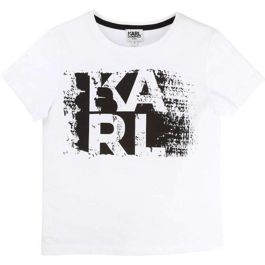 Karl Graphic White T-Shirt