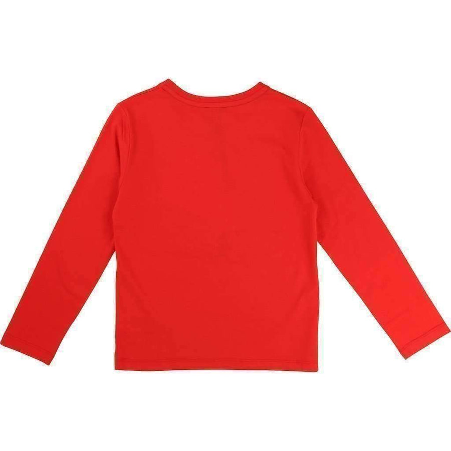 Karl Lagerfeld Red KARL T-Shirt