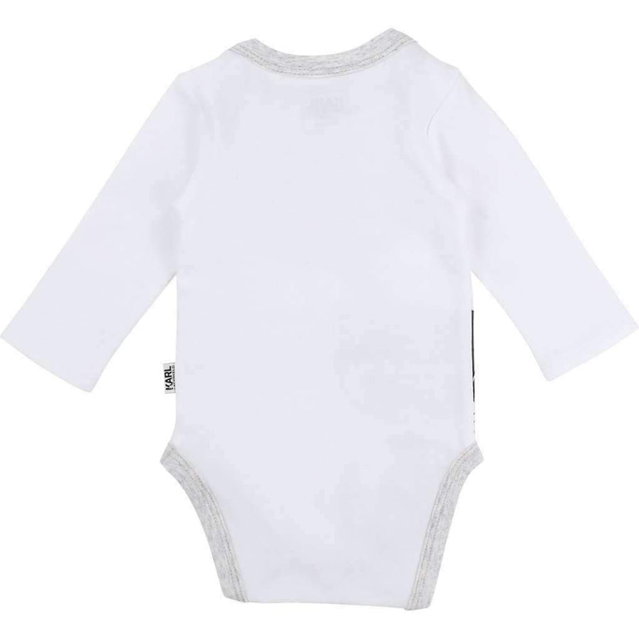 Karl Lagerfeld White Choupette Bodysuit With Ears Hat