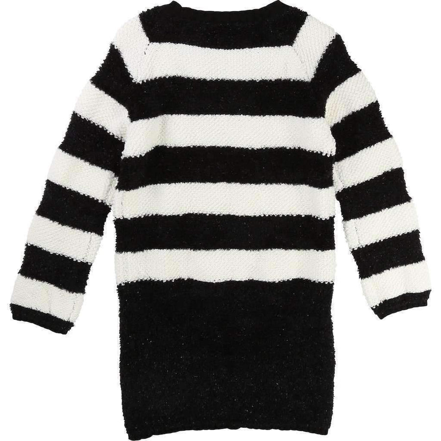 Little Marc Jacobs Black & White Striped Dress-Dresses-Little Marc Jacobs-kids atelier