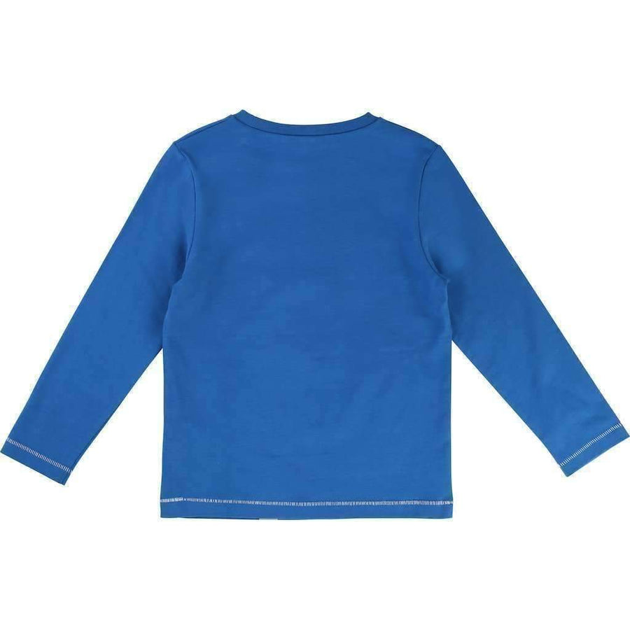 Little Marc Jacobs Blue Mister Marc T-Shirt