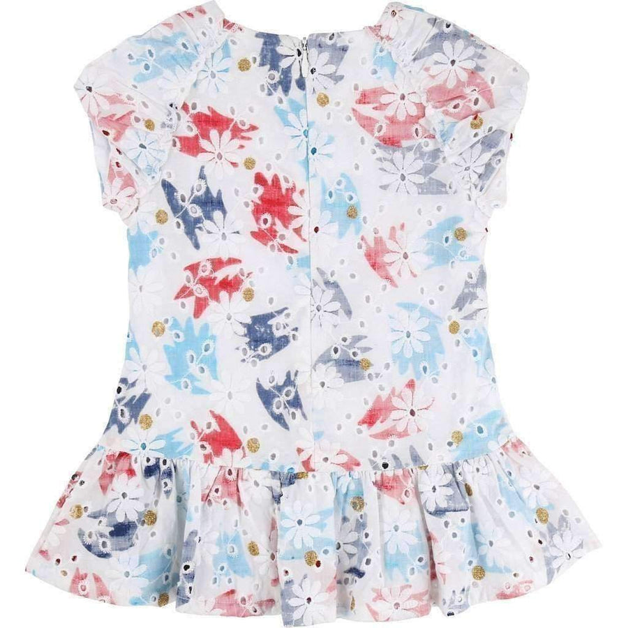 Little Marc Jacobs Floral Ceremony Dress