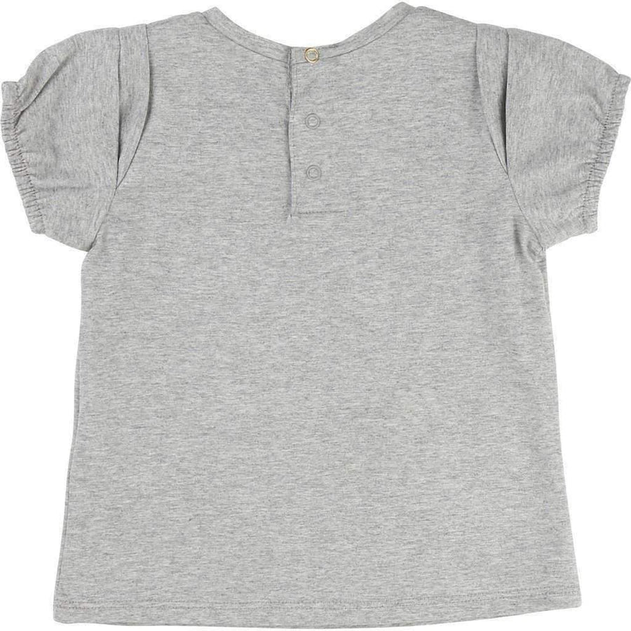 Little Marc Jacobs Grey Movie Panda T-Shirt