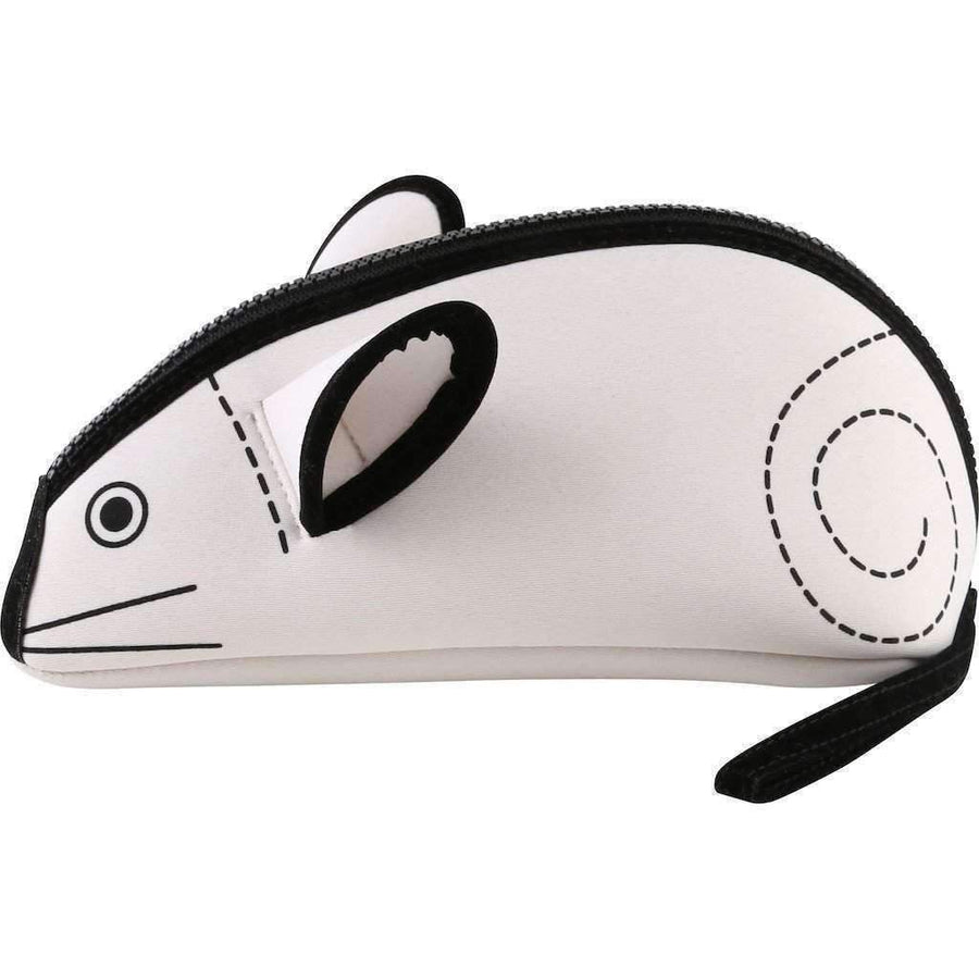 Little Marc Jacobs Mouse Zippered Case-Accessories-Little Marc Jacobs-One Size-White-kids atelier