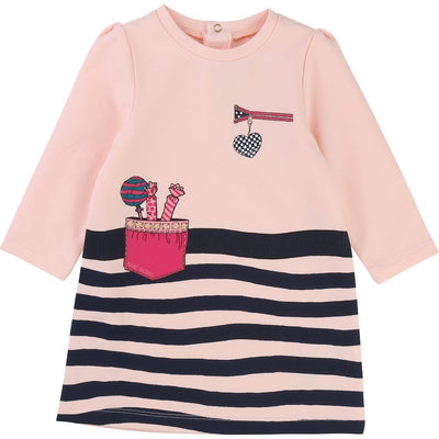 Little Marc Jacobs Pink Candy Dress-Dresses-Little Marc Jacobs-kids atelier