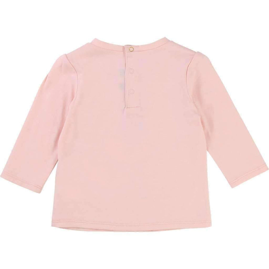 Little Marc Jacobs Pink Miss Marc T-Shirt