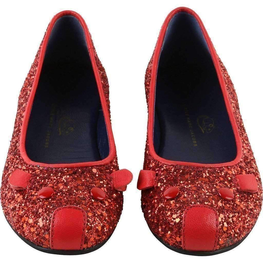 Little Marc Jacobs Red Ballerinas
