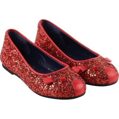 Little Marc Jacobs Red Ballerinas-Shoes-Little Marc Jacobs-kids atelier