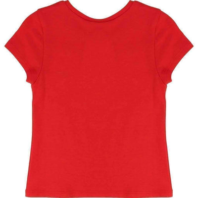 Little Marc Jacobs Red Glitter Gem T-Shirt-Shirts-Little Marc Jacobs-kids atelier