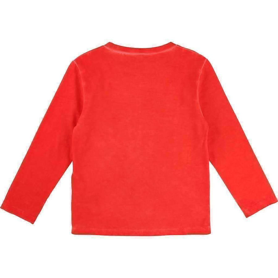 Little Marc Jacobs Red New York T-Shirt-Shirts-Little Marc Jacobs-kids atelier