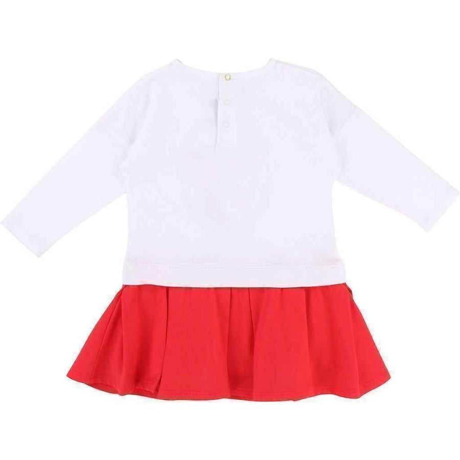 Little Marc Jacobs Red&White Dress-Dresses-Little Marc Jacobs-kids atelier
