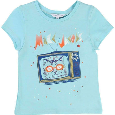 Little Marc Jacobs Retro Television T-Shirt-Shirts-Little Marc Jacobs-kids atelier