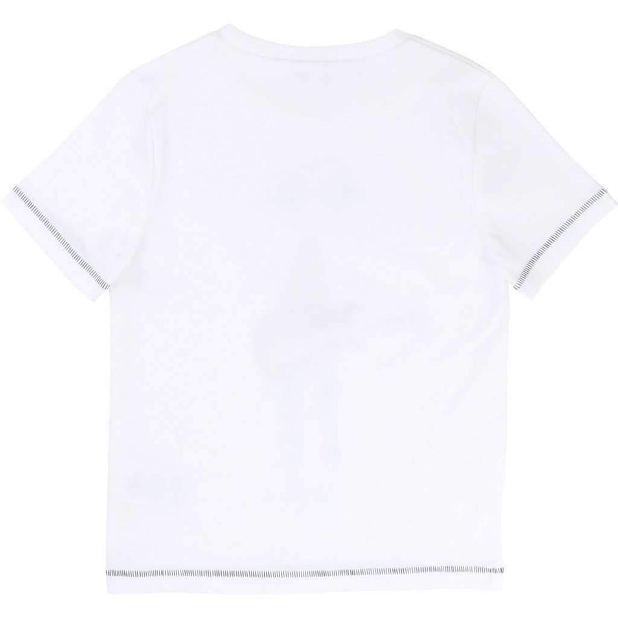 Little Marc Jacobs White Guitarist T-Shirt