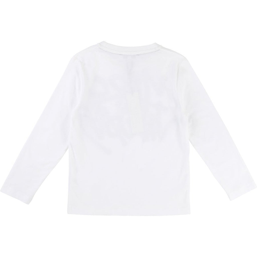 Little Marc Jacobs White Marc Jacobs T-Shirt-Shirts-Little Marc Jacobs-kids atelier