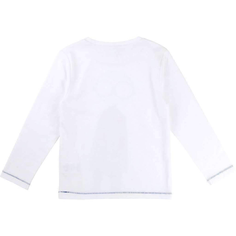 Little Marc Jacobs White Mister Marc T-Shirt