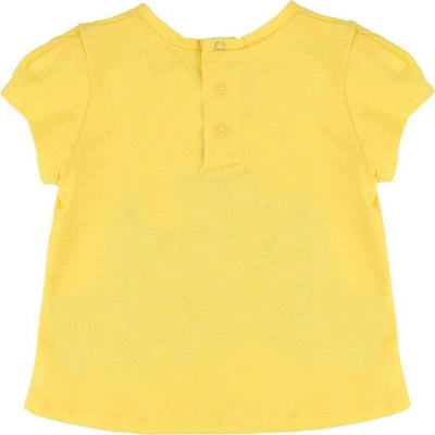 Little Marc Jacobs Yellow 3D Letters T-Shirt-Shirts-Little Marc Jacobs-kids atelier