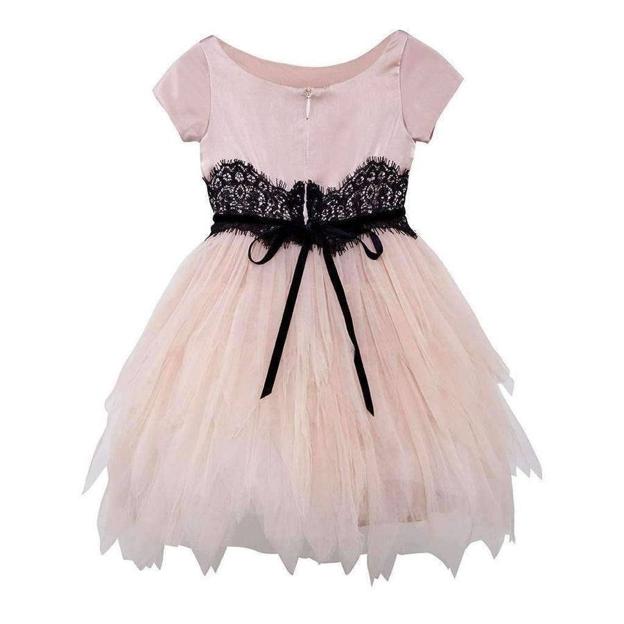 Odette Powder Tulle Dress