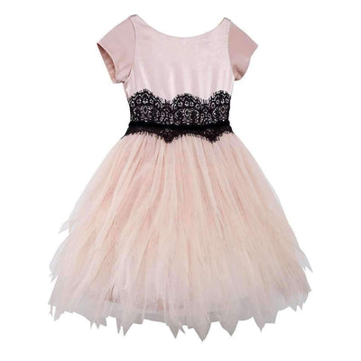 Luna Luna Odette Powder Tulle Dress-Dresses-Luna Luna-kids atelier