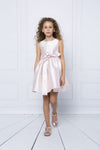 MAMA LUMA Striped Pink Dress-Dresses-Mama Luma-kids atelier