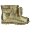 Mini Melissa Gold Mini Sugar Rain Boots-Shoes-Mini Melissa-kids atelier