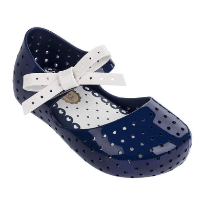 Mini Melissa Navy Blue Mini Furadinha X-Shoes-Mini Melissa-kids atelier