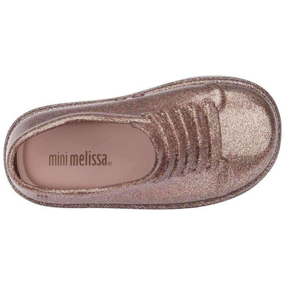 Mini Melissa Rose Gold Mini Be Shoes-Shoes-Mini Melissa-kids atelier