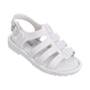 Mini Melissa White Mini Fox Sandals-Shoes-Mini Melissa-kids atelier