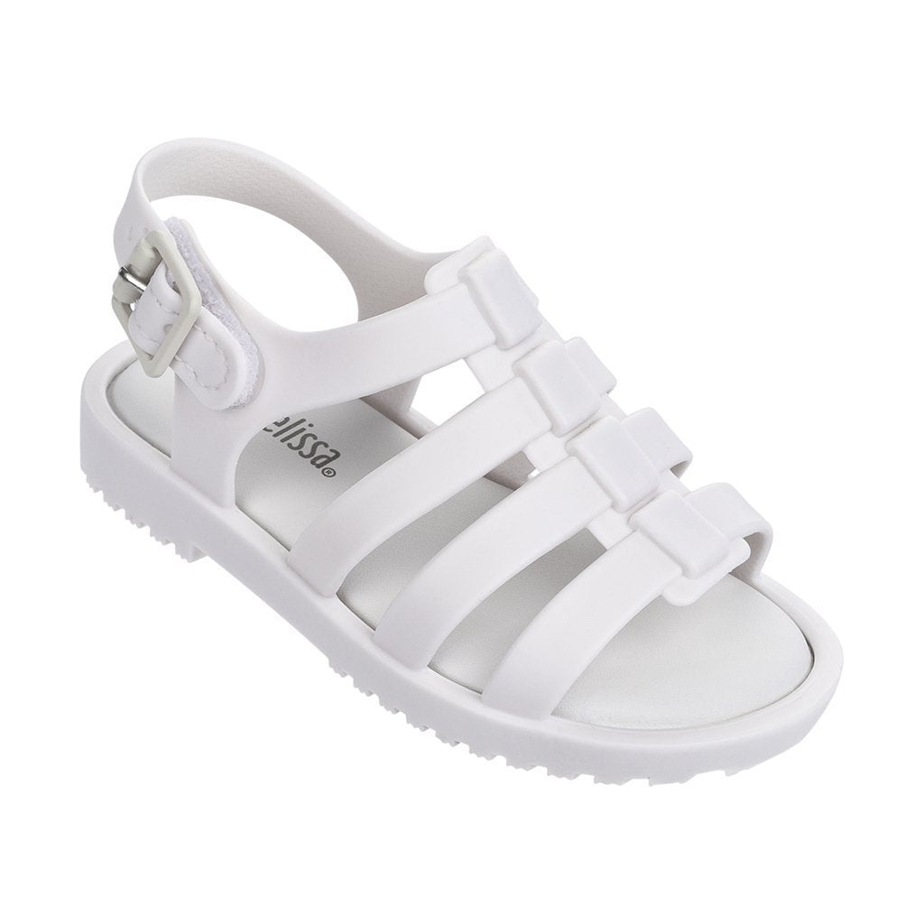 376a346e2 Mini Melissa White Mini Fox Sandals-Shoes-Mini Melissa-kids atelier