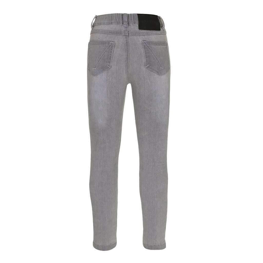 Molo Aida Grey Washed Denim Pants-Pants-Molo-kids atelier