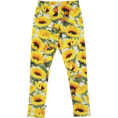 Molo Niki Sunflower Fields Leggings-Leggings-Molo-kids atelier