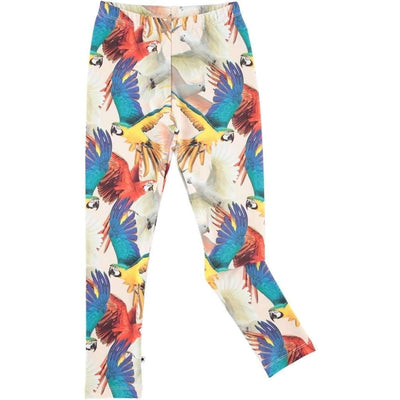 Molo Nikia Parrots Leggings-Leggings-Molo-kids atelier