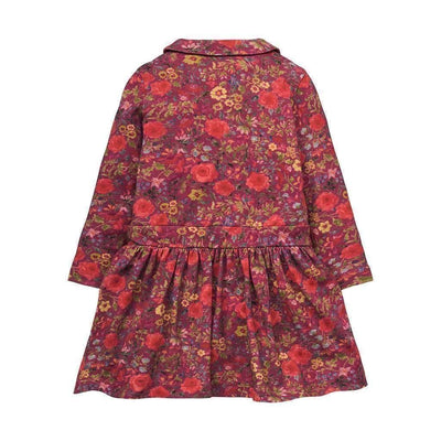 Oilily Flower Jersey Dress-Dresses-Oilily-kids atelier