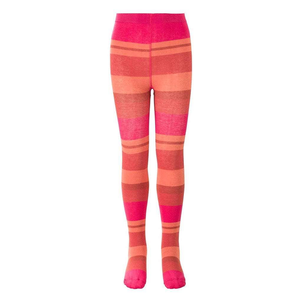 2bb1411b8 Oilily Pink Salmon Striped Tights-Leggings-Oilily-kids atelier