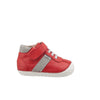 Old Soles Tudors Bright Red & Gray Suede Shoes-Shoes-Old Soles-kids atelier