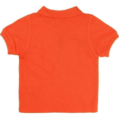 Orange Classic Polo-Shirts-BOSS-kids atelier