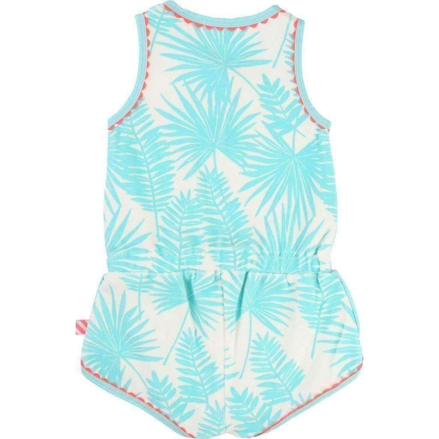 Palm Leaves Romper