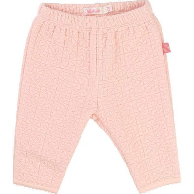 Pink Cardigan & Pants Set-Outfits-Billieblush-kids atelier